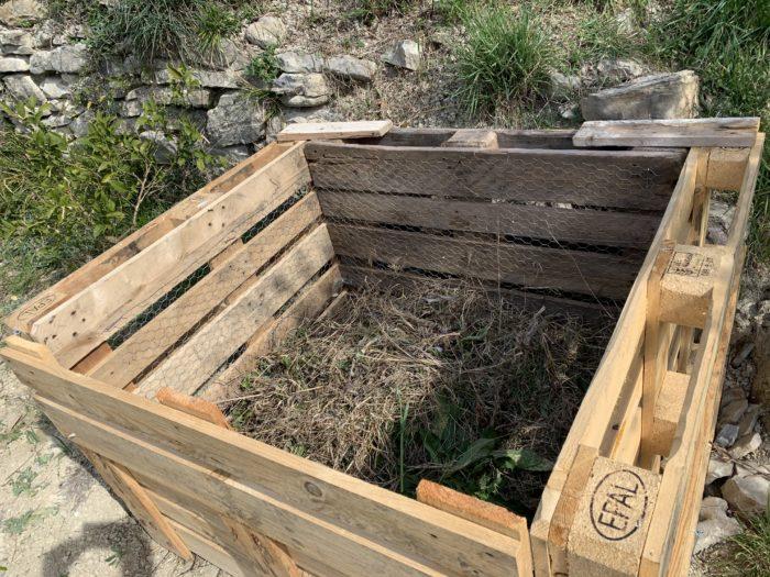 kompost EUR palete